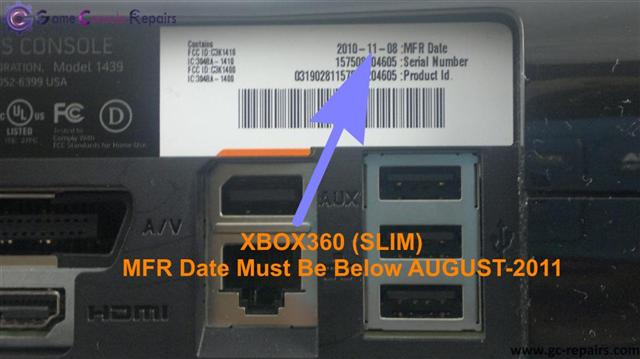 XBOX360 (SLIM) Model Identification for Reset Glitch Hack