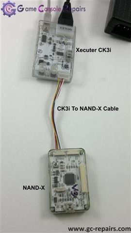 Updating Nand-X to V3 Code using Ck3i and Update Cable