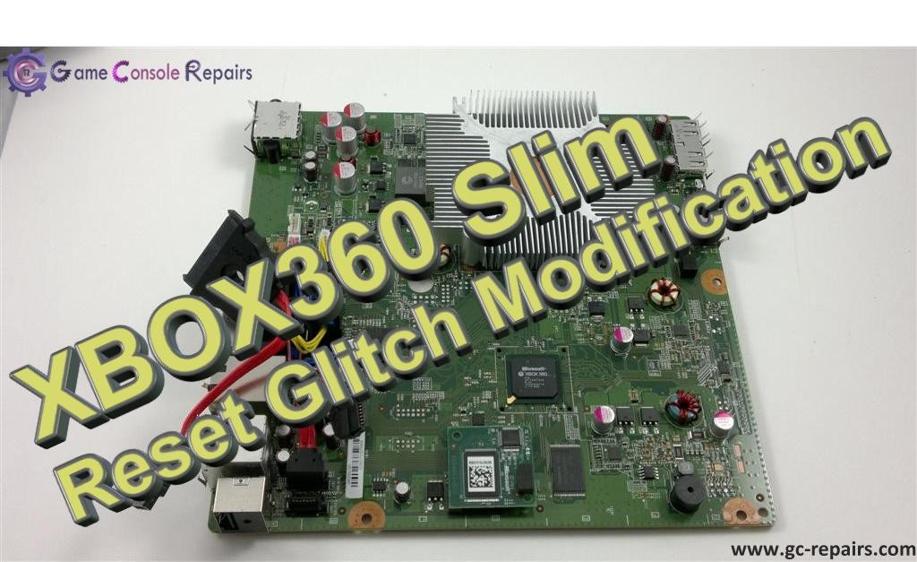 XBOX360 (SLIM) - Reset Glitch Hack (RGH) Modification Service