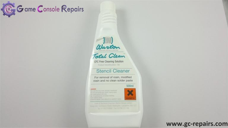Warton Total Clean 130 Stencil Cleaner