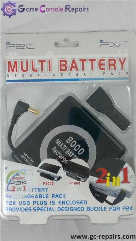 Multi Battery for PSP 3000/2000/1000 black