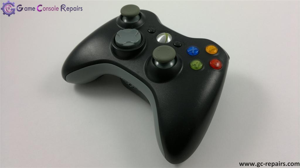 XBOX360 Official Wireless Controller (Black) - Pre-owned