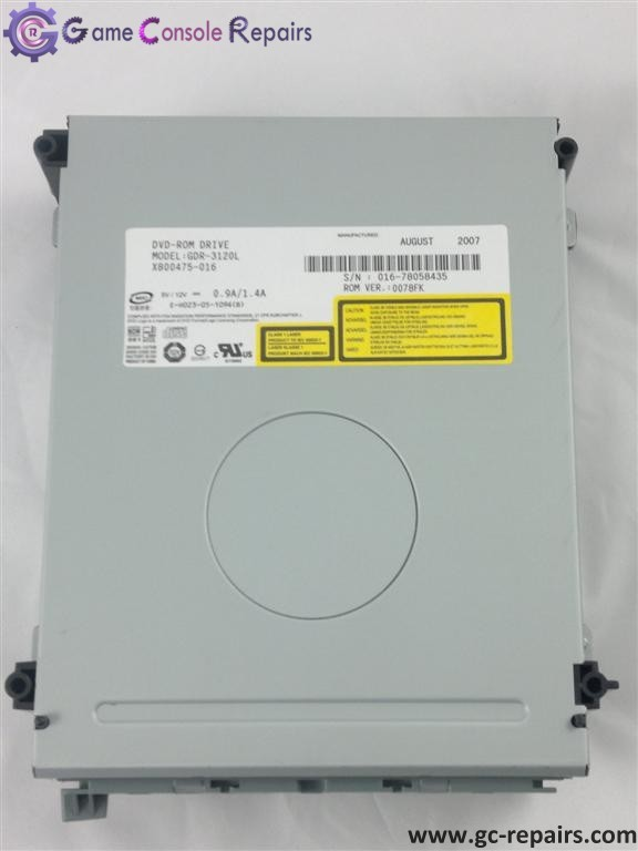 XBOX360 (PHAT) Replacement Drive Hitachi GDR-3120L