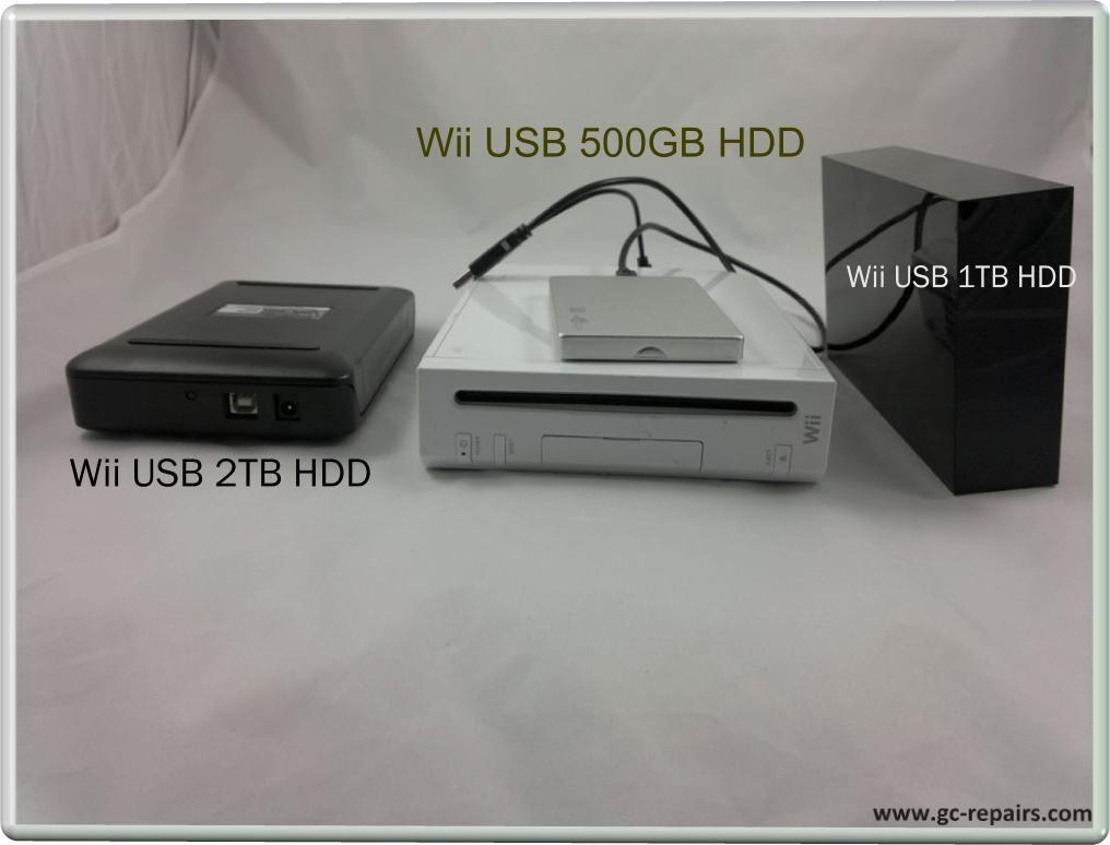 external hard drive wii