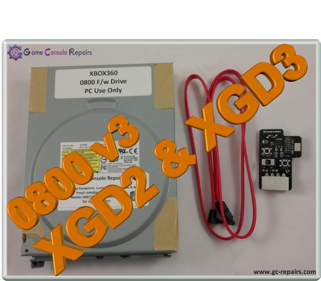 XBOX360 Liteon - 0800 v3 Firmware