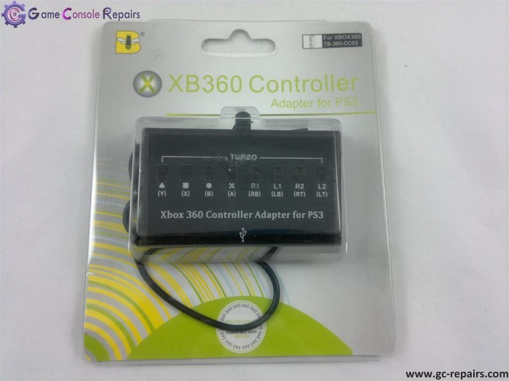 XBox360 Controller Adapter Kit Black