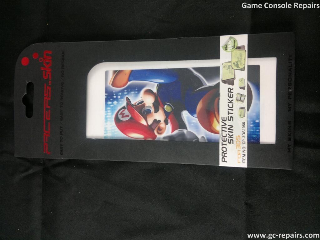 Protective skin stickers Super Mario Galaxy 1 for Nintendo 3DS