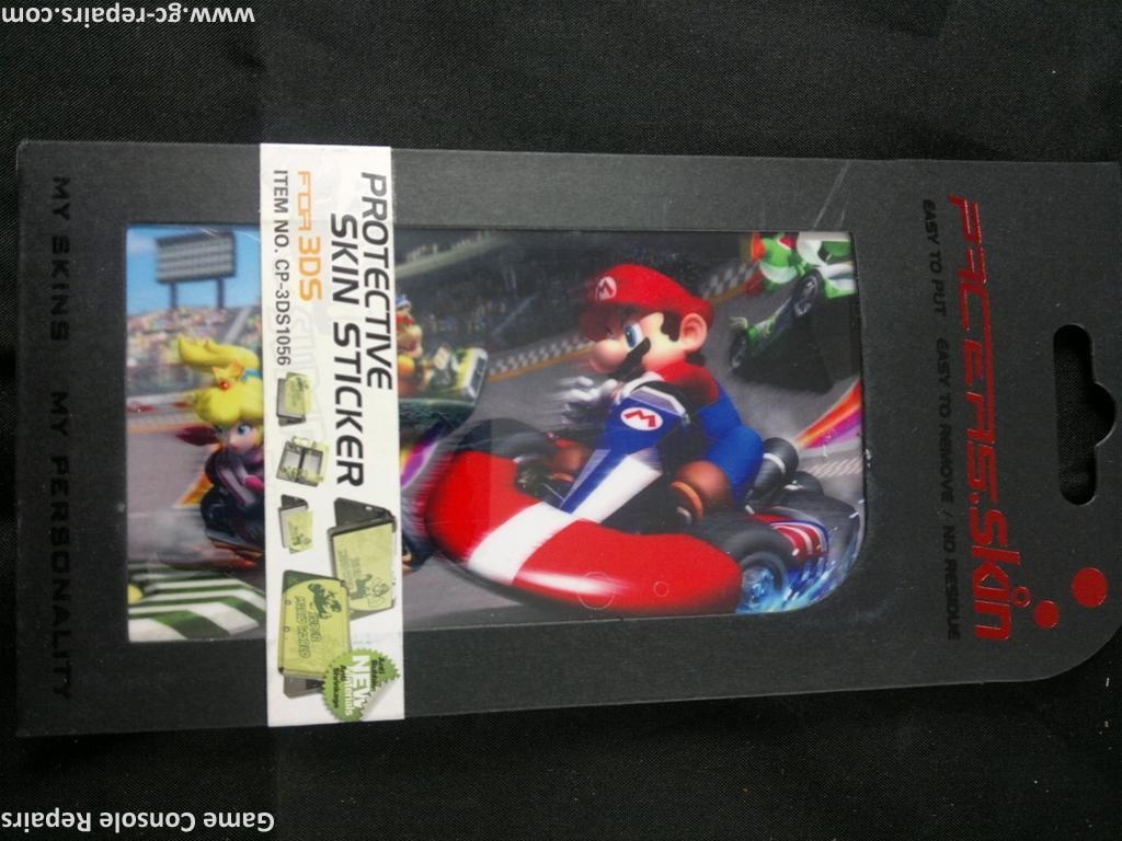 Protective skin stickers Racing Mario for Nintendo 3DS