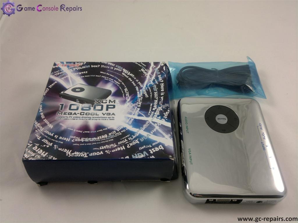 XCM Mega-Cool VGA Box for Wii, XBox360 & PS3