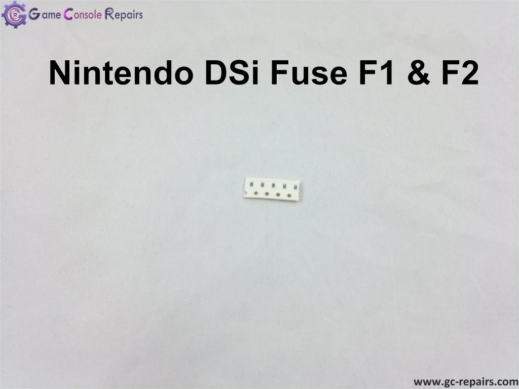 Nintendo DSi - Fuse (F1 & F2) Replacement