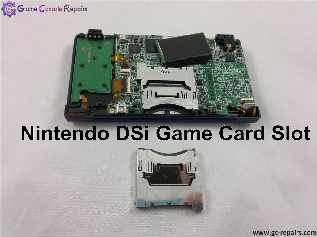 Nintendo DSi - Game Card Slot-1 Replacement
