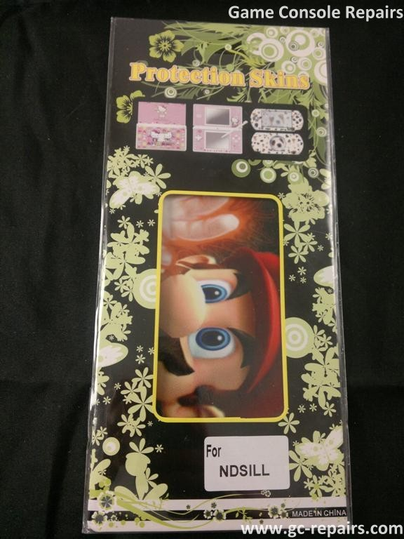 Big Mario protective skin stickers for Nintendo DSiXL