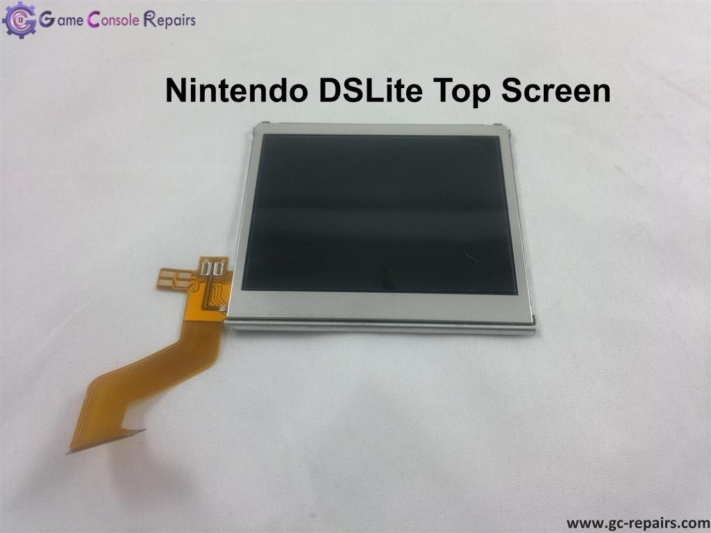 ds lite replacement top bottom screen game console repairs. Black Bedroom Furniture Sets. Home Design Ideas
