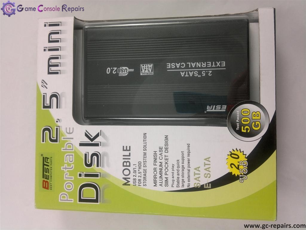 2.5 Mini portable disk enclosure external sata (Black)