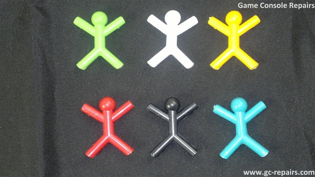 Cute Man Shaped Plastic Favor Bookmark Paper Clip