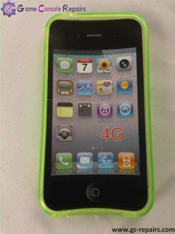 iPhone 4G Cover - lime Green