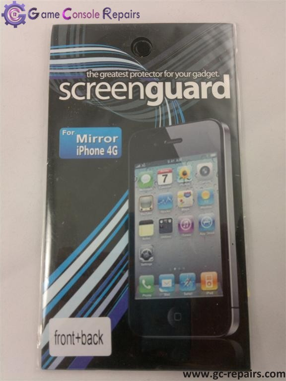 Screen Guard for iPhone 4G Skin Mirror