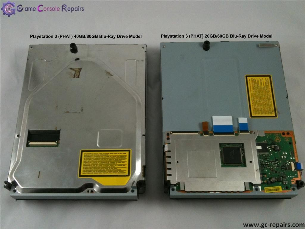 Playstation 3 (PHAT) BLU-RAY Drive Replacement