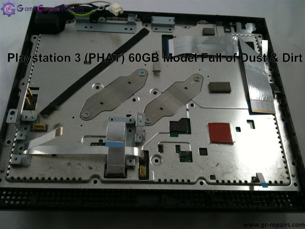 Playstation 3 (PHAT) Service Clean up