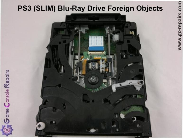 PS3 (SLIM) Foreign Objects Removal