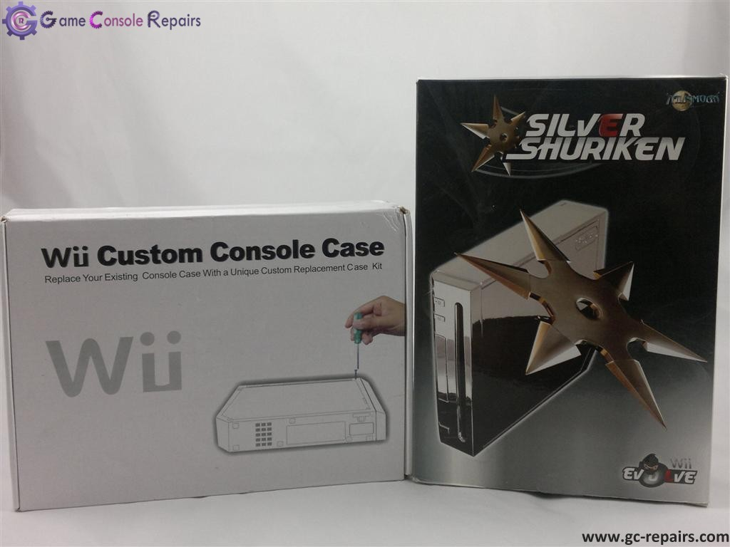 Wii Evolve Casing House (Silver)