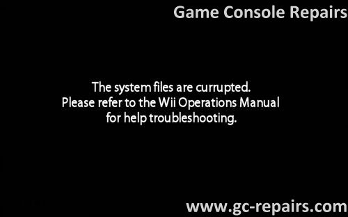wii nand restoration unbricking game console repairs game rh gc repairs com wii operations manual help troubleshooting unable read disc wii operations manual help troubleshooting unable read disc