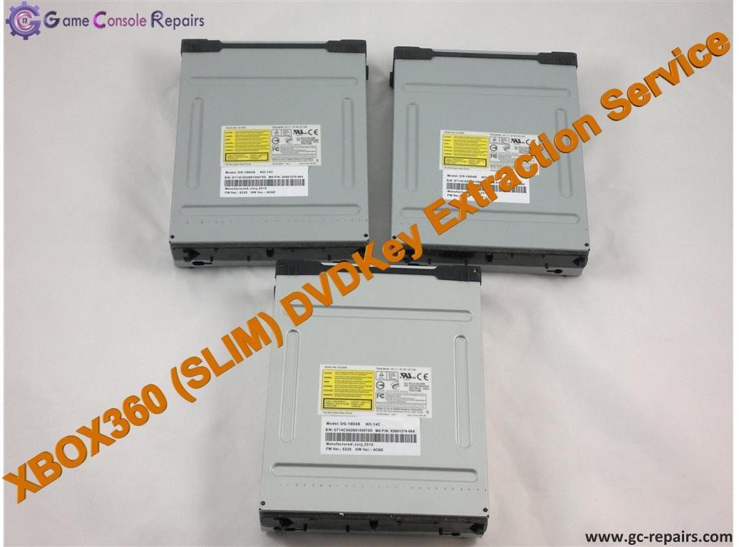 XBOX360 (SLIM) DVDKey Extraction Service