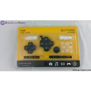 Replacement Buttons pack (Black) (White)(Translucent) for PSP 3000