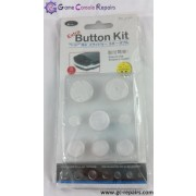 Button kit for PSP 1000 (White)