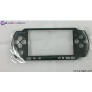 Replacement front face plate (Black) for PSP 2000