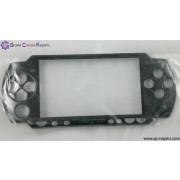 Replacement front face plate (Black) for PSP 3000