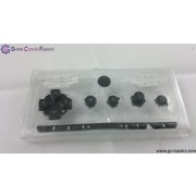 Replacement Buttons pack (Black) (White)(Translucent) for PSP 1000