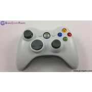 XBOX360 Official Wireless Controller (White) - Pre-owned