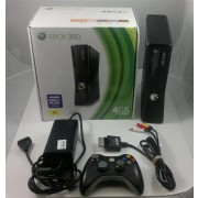 Pre-Moded XBOX360 (SLIM) Reset Glitch (RGH) 4GB & Basic Accessories Console Package