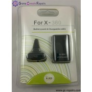 XBOX360 Play & Charge Kit (4800 mAh) Black