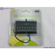 XBox360 Controller Adapter Kit Black