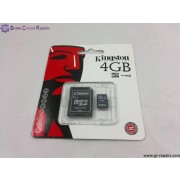 4GB(Kingston) Micro SDHC Card for Nintendo DSi, DSL, DSXL/LL, Phones and Cameras