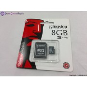 8GB(Kingston) Micro SDHC Card for Nintendo DSi, DSL, DSXL/LL, Phones and Cameras