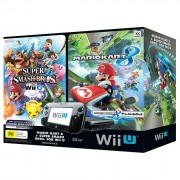 Nintendo Wii U Mario Kart 8 and Super Smash Bros Bundle Package