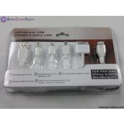 Universal USB Power Charging Cable for iPod/PSP/NDS/NDSi/NDS Lite/MP3/MP4/iPhone3G/iPhone3GS & 4