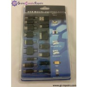 14-in-1 Universal USB Charger for MP3/MP4/Cell Phone/iPod/iPhone/PSP/NDS/NDS Lite