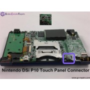 Nintendo DSi - P10 Touch Panel & other Connectors Replacement