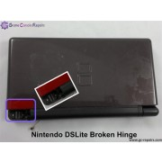 Nintendo DSLite Case-Axis Hinge, Screen Shaft Repair/Replacement
