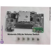 Nintendo DSLite Volume Switch Replacement