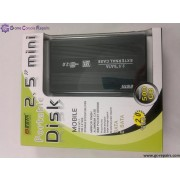 2.5 Mini portable disk enclosure external sata (Black)