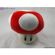 Mushroom Soft Toy (Red)