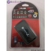 USB 7 port hub 2.0 (Black)