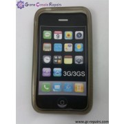 Protective Silicone Case for Apple iPhone 3G/3GS (Brown)