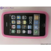 Protective SiliconeCasefor Apple iPhone3G/3GS (Pink)