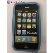 Protective Silicone Case for Apple iPhone 3G/3GS (Blue)